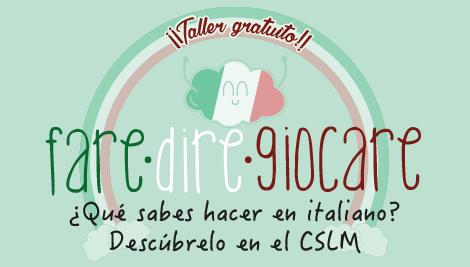 Talleres gratuitos de italiano