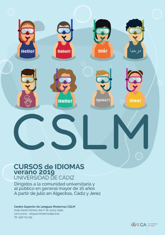 Nueva edición de verano de cursos de idiomas del CSLM
