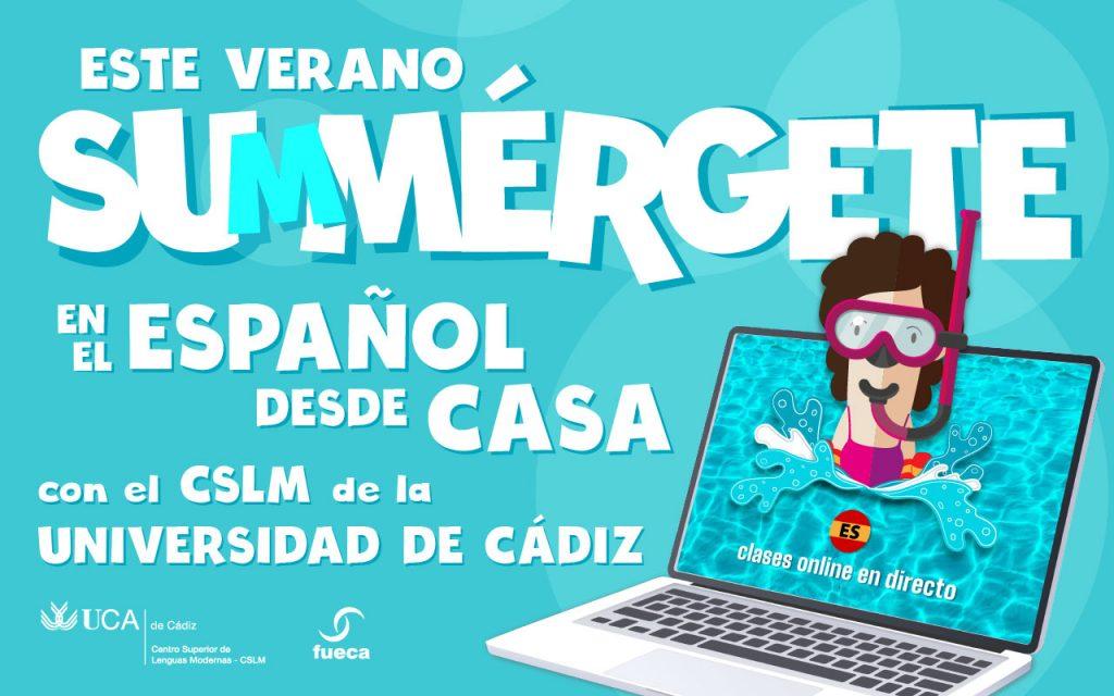 Este verano… ¡Aprende español desde casa con el CSLM!
