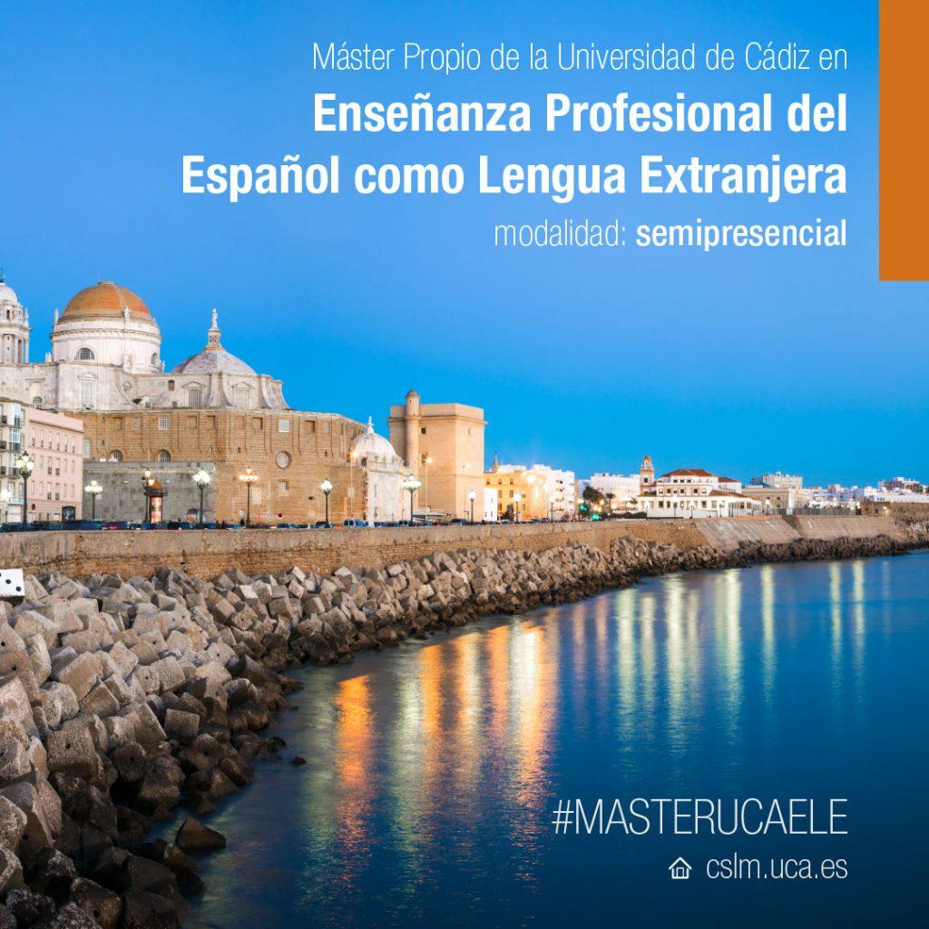 IMG Máster en Enseñanza profesional del Español como Lengua Extranjera (ELE).